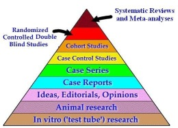 Systematic reviews are the best form of Evidence Based Research