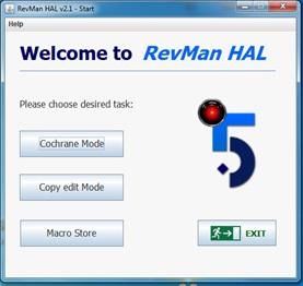 RevMan HAL